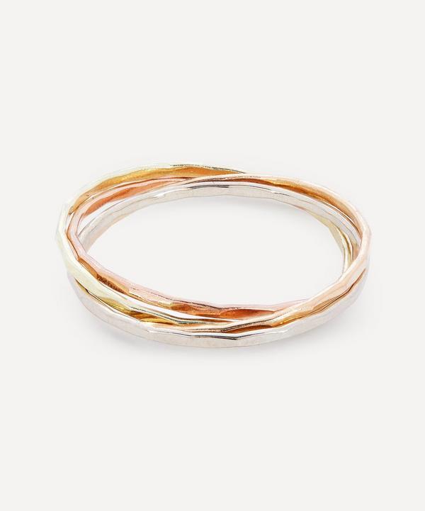 Melissa Joy Manning - Mixed 14ct Gold Interlocking Rings