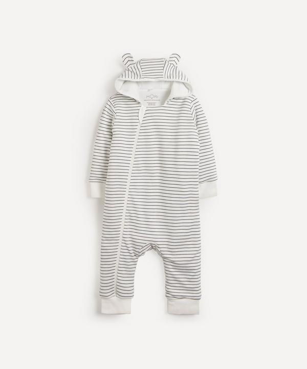 MORI - Stripe Snugsuit 0-24 Months