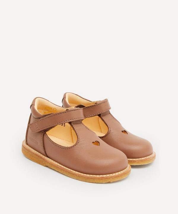 Angulus - Heart and Velcro Mary Jane Starter Shoes Size 19-24