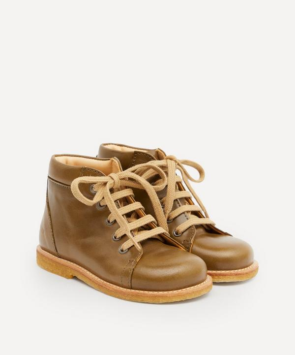 Angulus - Leather Lace-Up Starter Boots Size 20-25