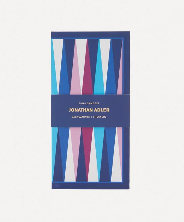 Abrams and Chronicle Books - Jonathan Adler 2-in-1 Travel Game Set