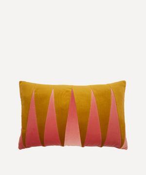 Paula Cotton Velvet Cushion