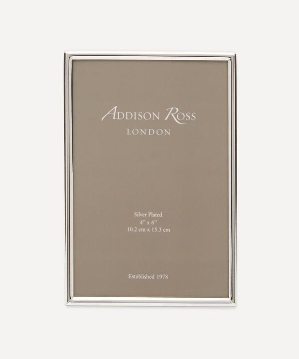 "Addison Ross - Fine Silver 4x6"" Photo Frame"