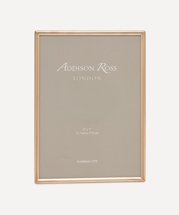 "Addison Ross - Fine Matte Gold 5x7"" Photo Frame"