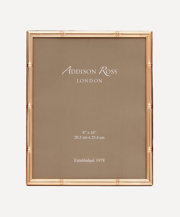 "Addison Ross - Gold Bamboo 8x10"" Photo Frame"