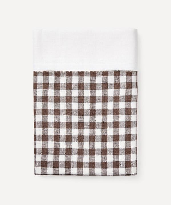 Rebecca Udall - Gingham Linen Tablecloth