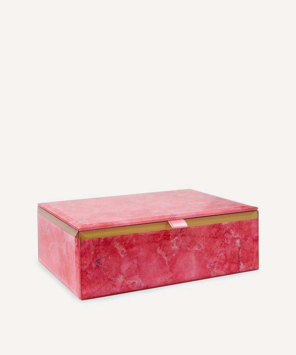 Lola Rose - Flamingo Magnesite Treasure Box
