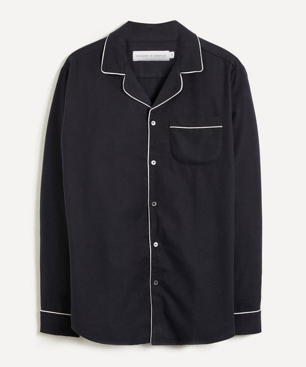 Desmond & Dempsey - Brushed Cotton Pyjama Shirt