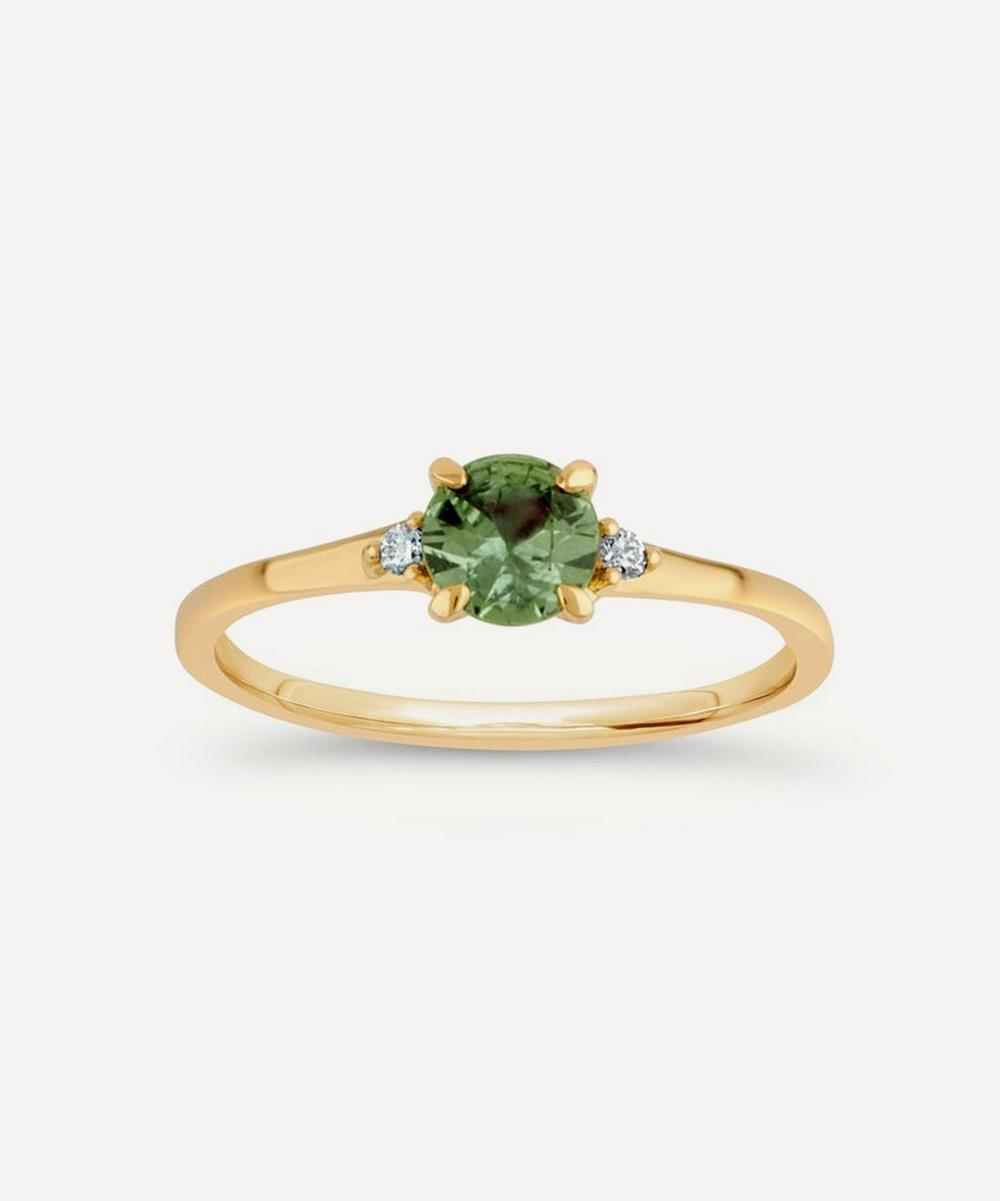 Dinny Hall Kassia Sapphire And Diamond Ring In Gold