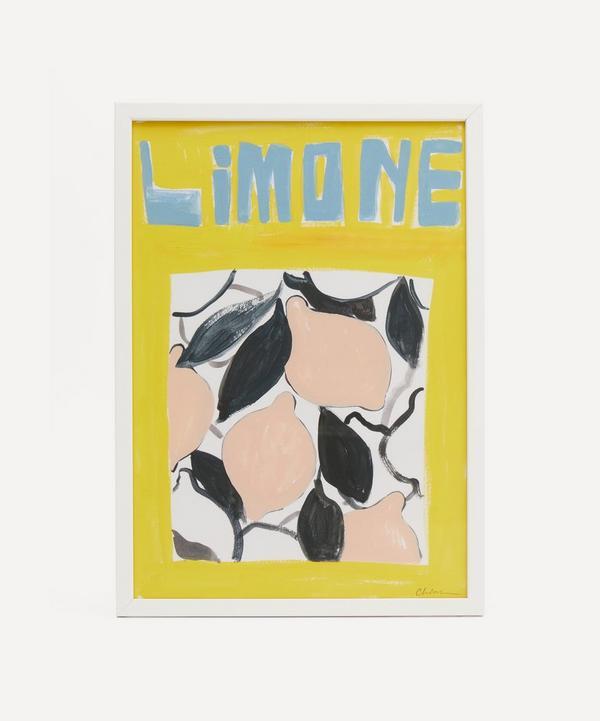 Chiara Perano - A3 Framed Limone Print