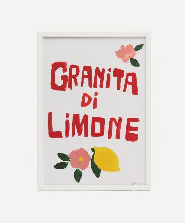 Chiara Perano - A3 Framed Granita Print