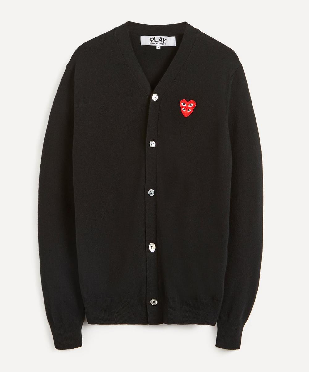 Comme des Garçons Play - Heart Logo Patch Wool Cardigan