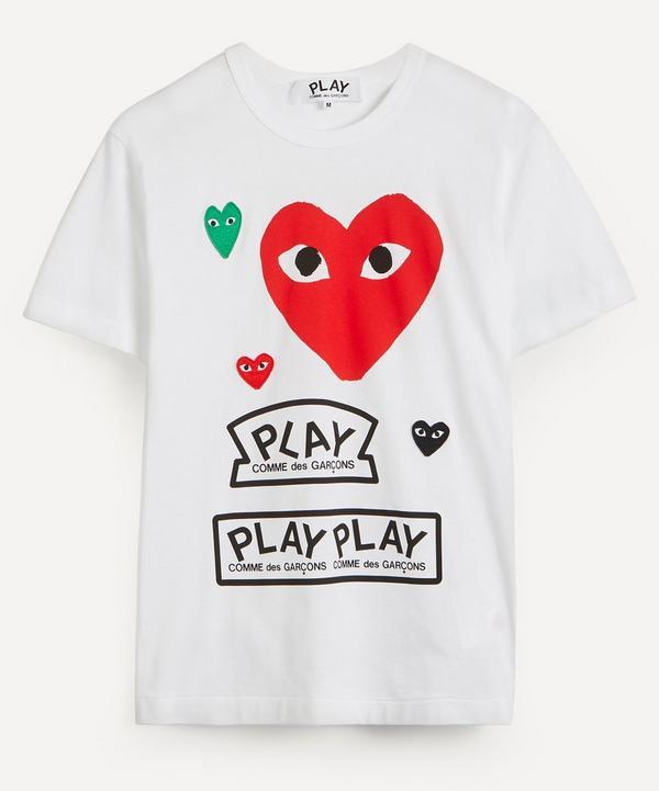 Comme des Garçons Play - Large Heart Logo Cotton T-Shirt