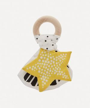 Starfish Crinkle Teether