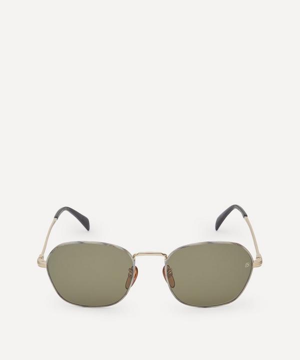 Eyewear by David Beckham - Square-Frame Metal Sunglasses