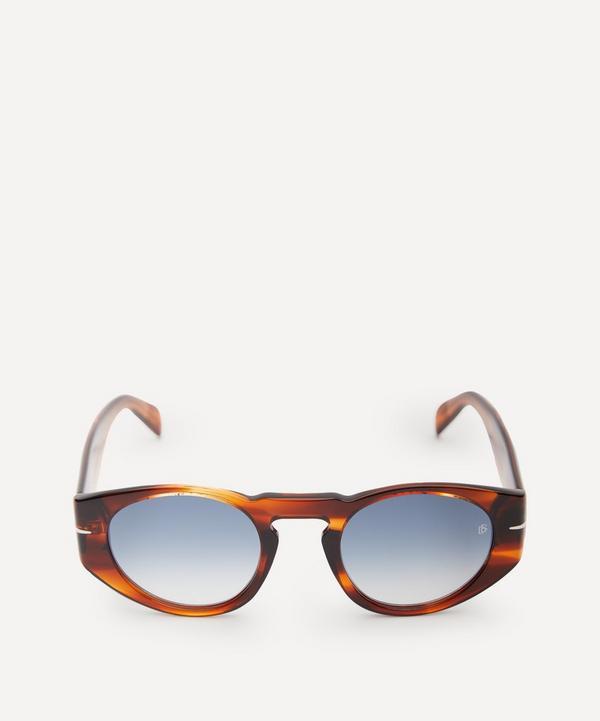 Eyewear by David Beckham - Oval-Frame Acetate Sunglasses