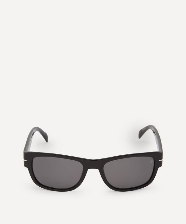 Eyewear by David Beckham - Rectangular-Frame Acetate Sunglasses