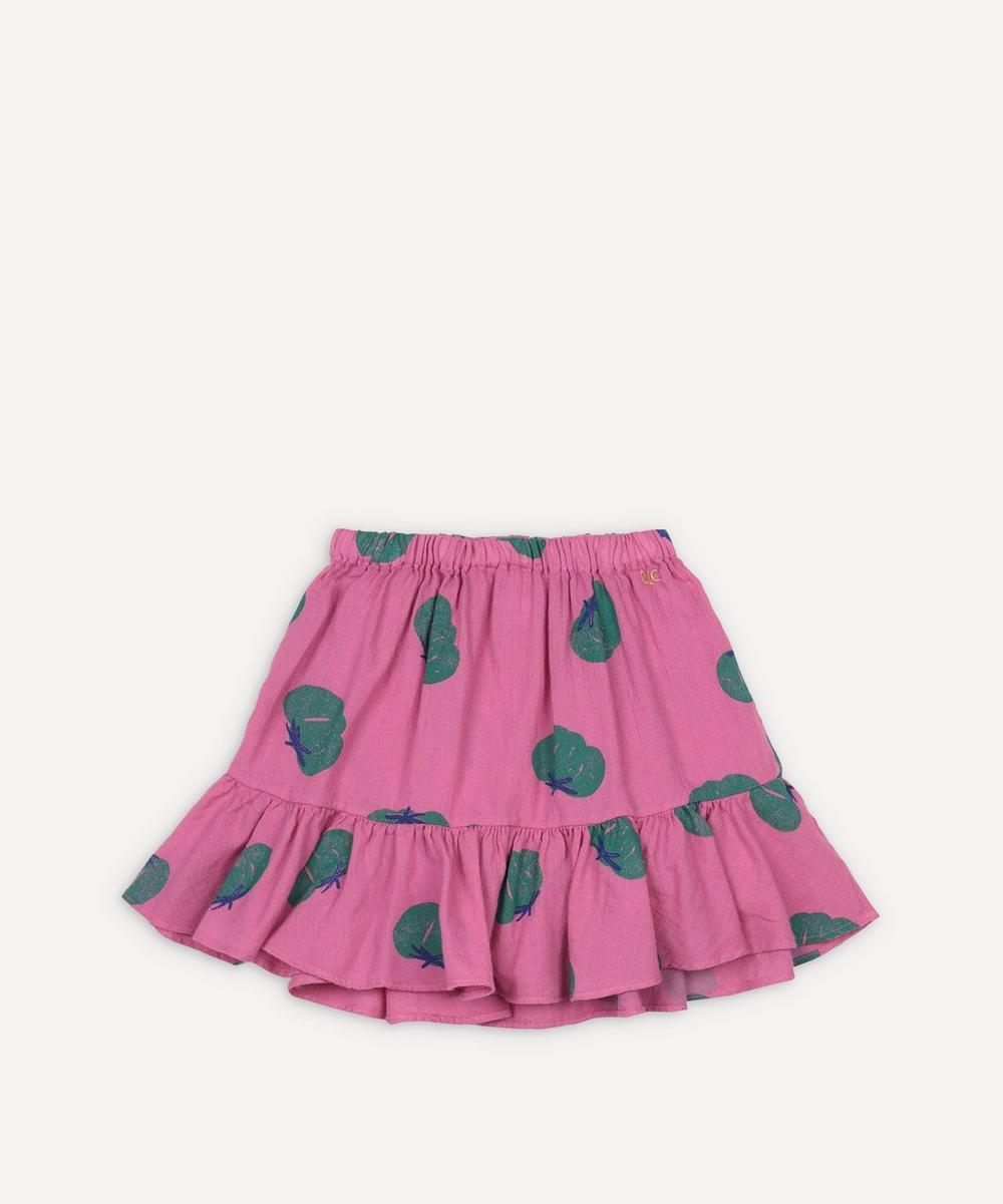 Bobo Choses - Tomato All Over Woven Ruffle Skirt 2-8 Years