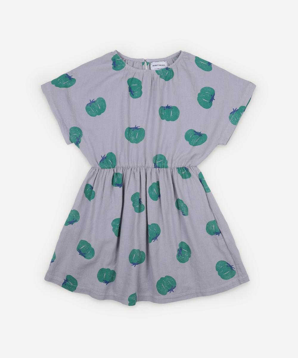 Bobo Choses - Tomato All Over Woven Dress 2-8 Years