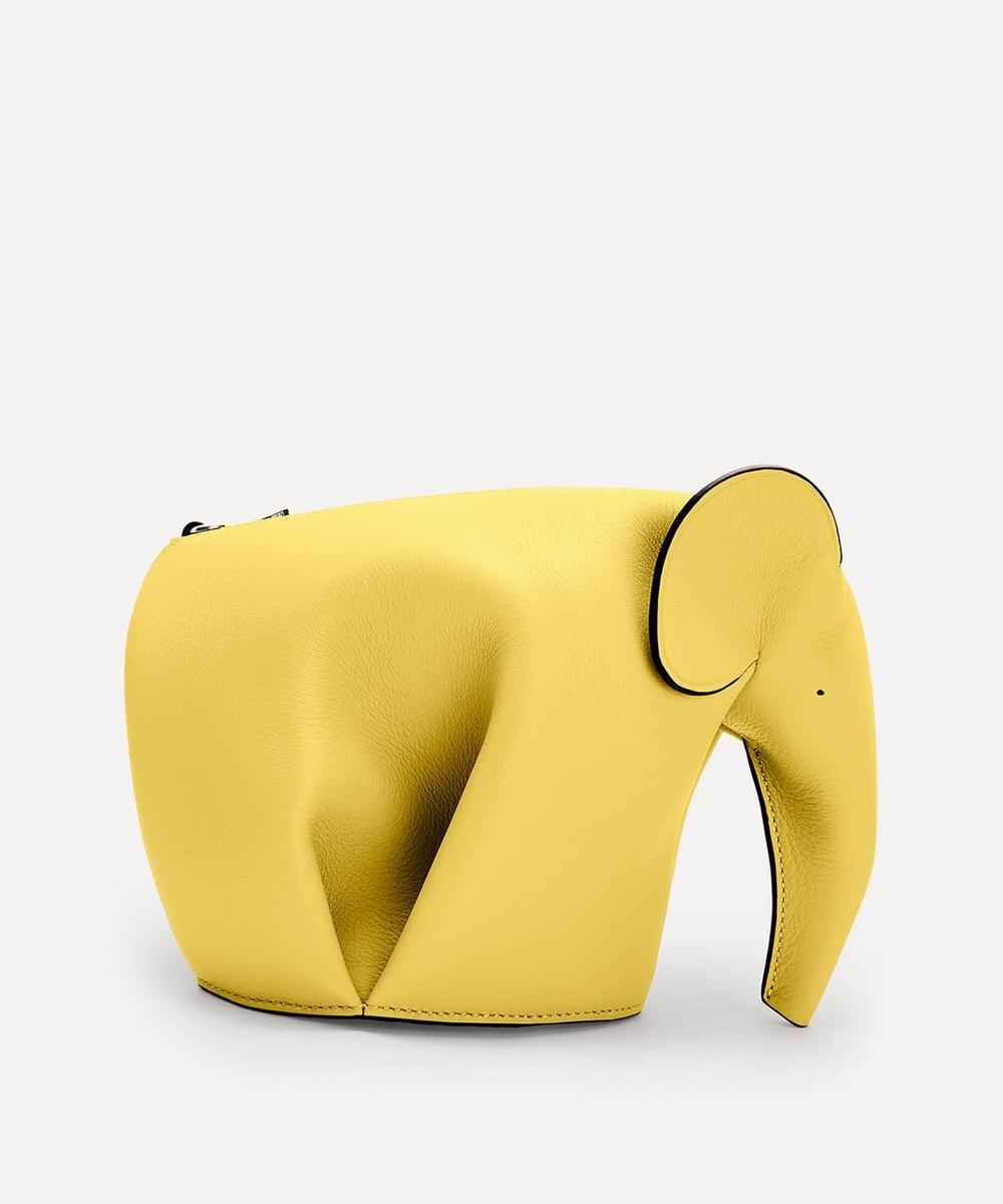 Loewe - Mini Elephant Leather Bag