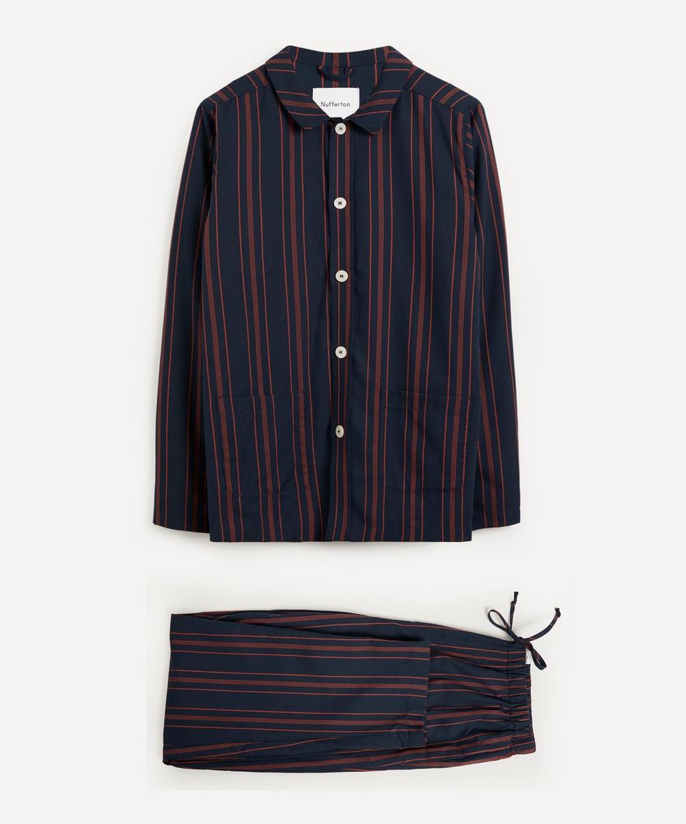 Nufferton - Uno Old School Stripe Cotton Pyjamas