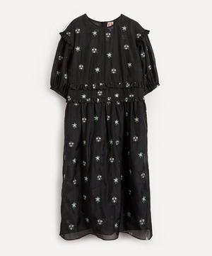 Theodore Embroidered Midi-Dress