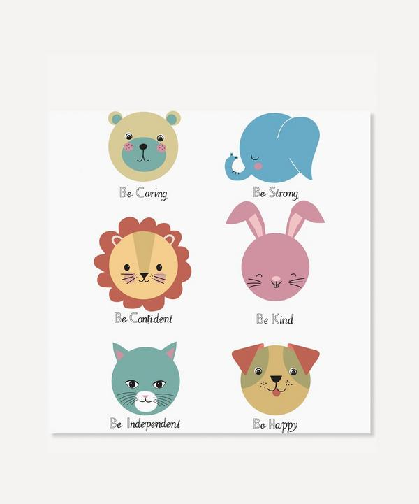 Karin Akesson - Colourful Animal Personality Print