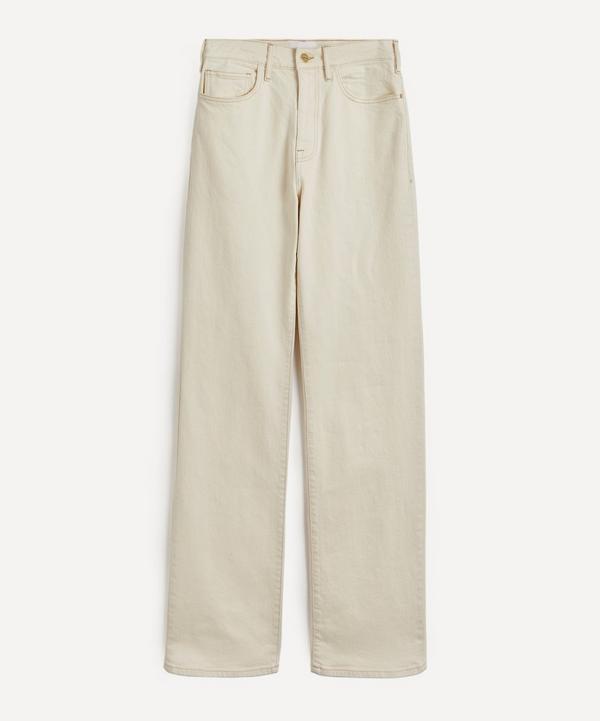 Frame - Le Jane High-Rise Wide-Leg Jeans