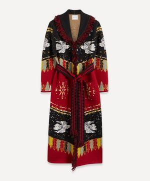Merino Wool Duster Coat