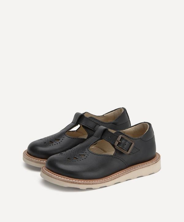 Young Soles - Rosie Black T-Bar Shoes Size 26-30