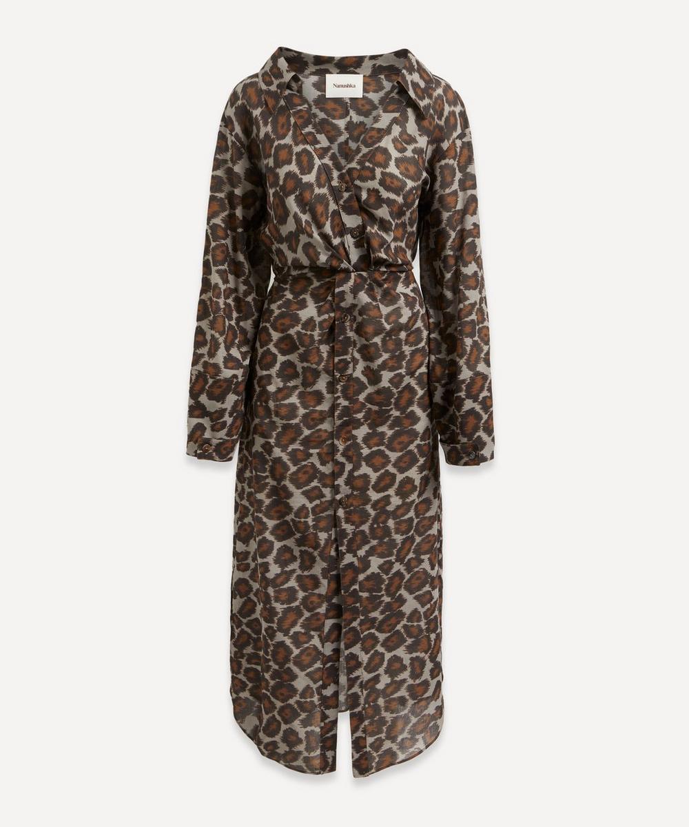 Nanushka Dresses AYSE TWIST-FRONT DRESS