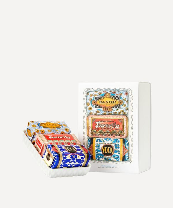 Claus Porto - Mini Soap and Soap Dish Set