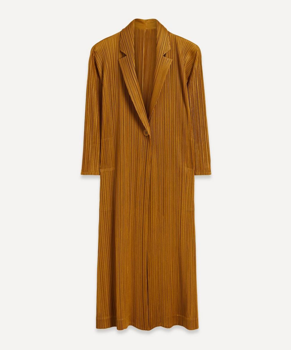 Pleats Please Issey Miyake - Long Pleated Cardigan Jacket