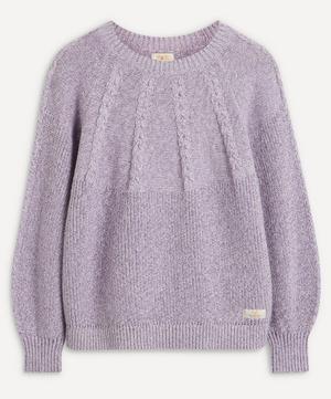 Victoria Cable-Knit Jumper