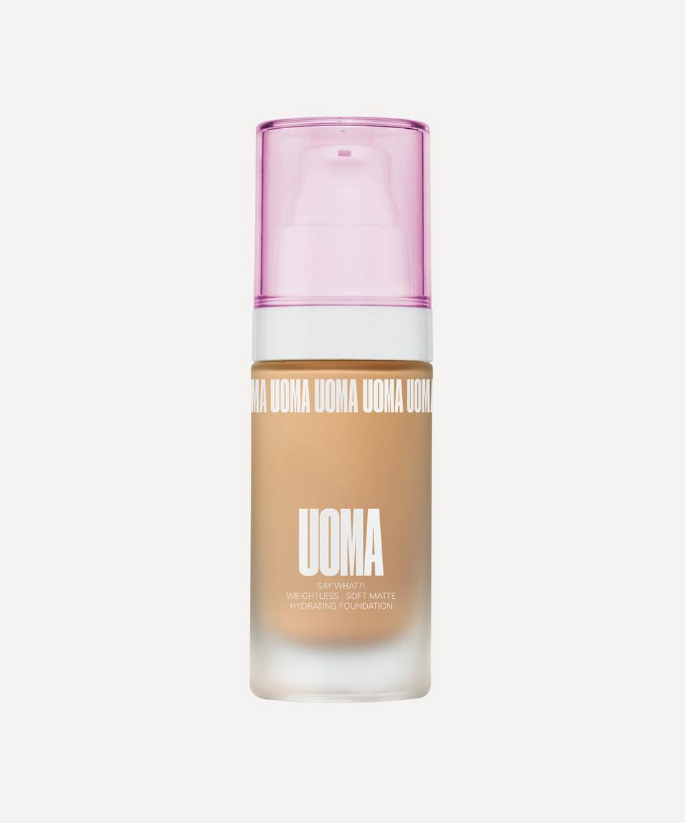 UOMA Beauty - Say What?! Foundation in Honey Honey T1W