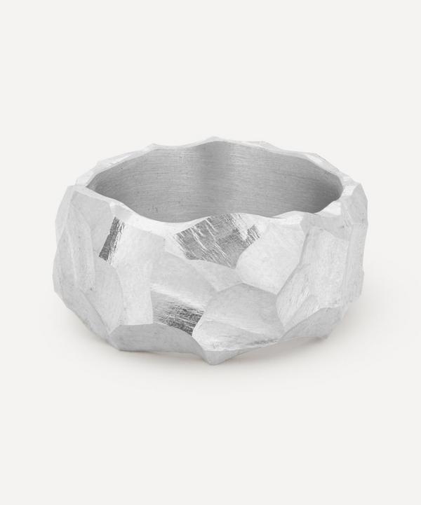 All Blues - Sterling Silver Rauk Narrow Ring