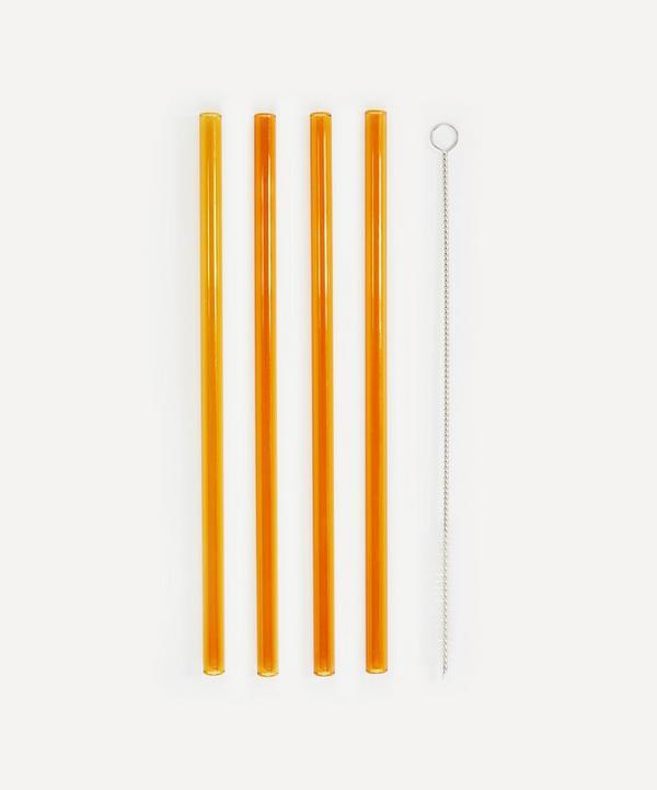 Soho Home - Avondale Glass Straws Set of Four
