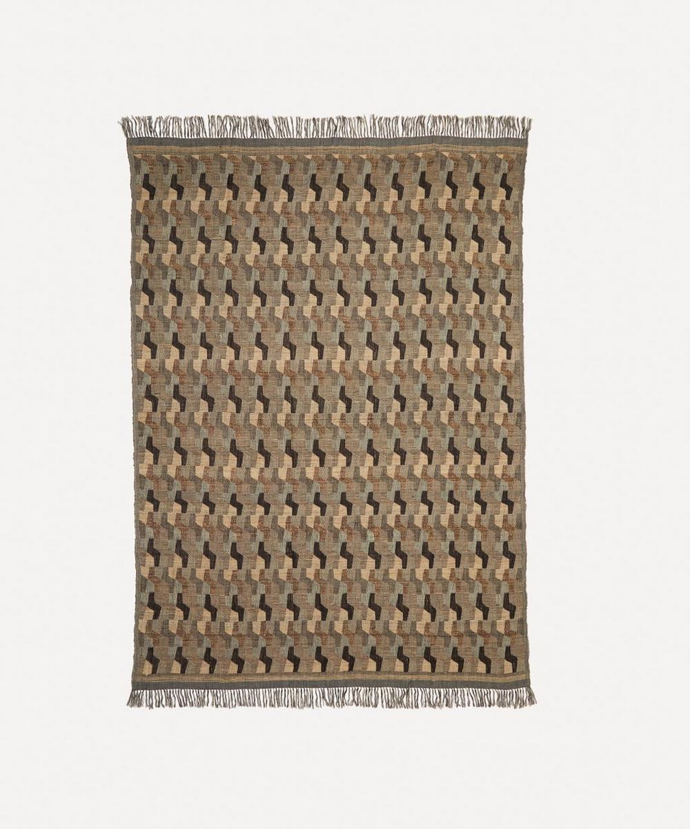 Soho Home - Como Linen and Silk-Blend Throw