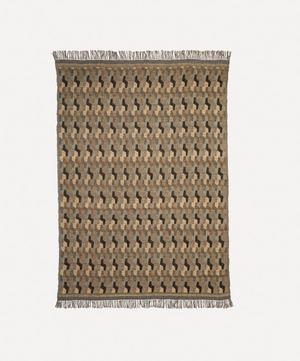 Como Linen and Silk-Blend Throw