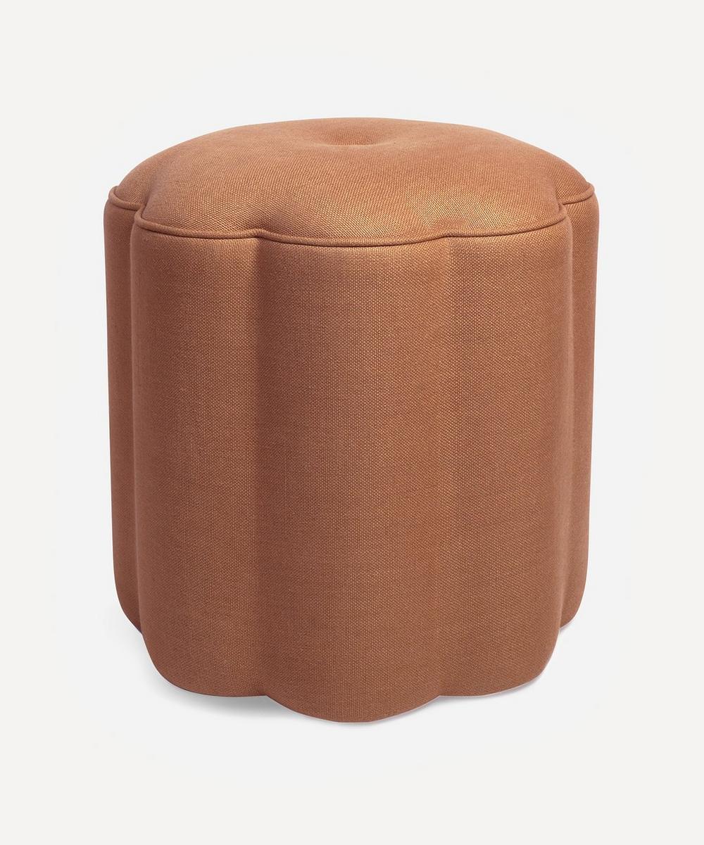 Soho Home - Flower Linen Footstool