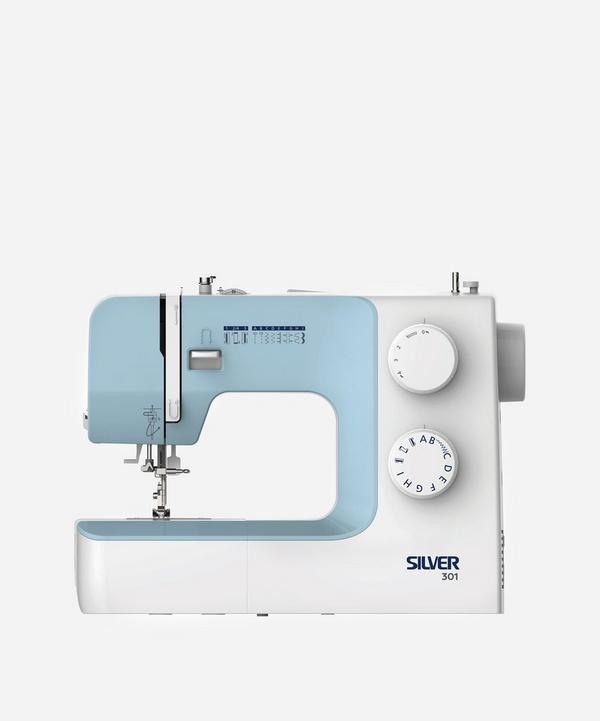 Silver - Silver 301 9-Stitch Mechanical Sewing Machine