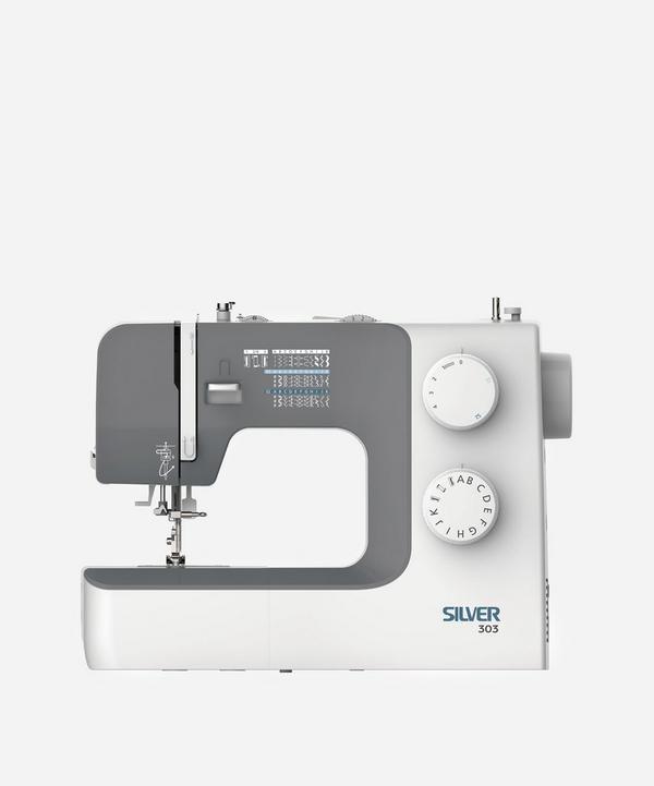 Silver - Silver 303 32-Stitch Mechanical Sewing Machine