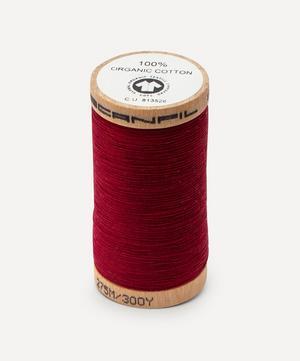 Burgundy Organic Cotton Thread