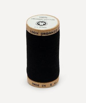 Black Organic Cotton Thread