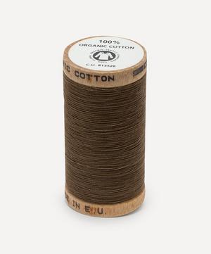 Dark Beige Organic Cotton Thread
