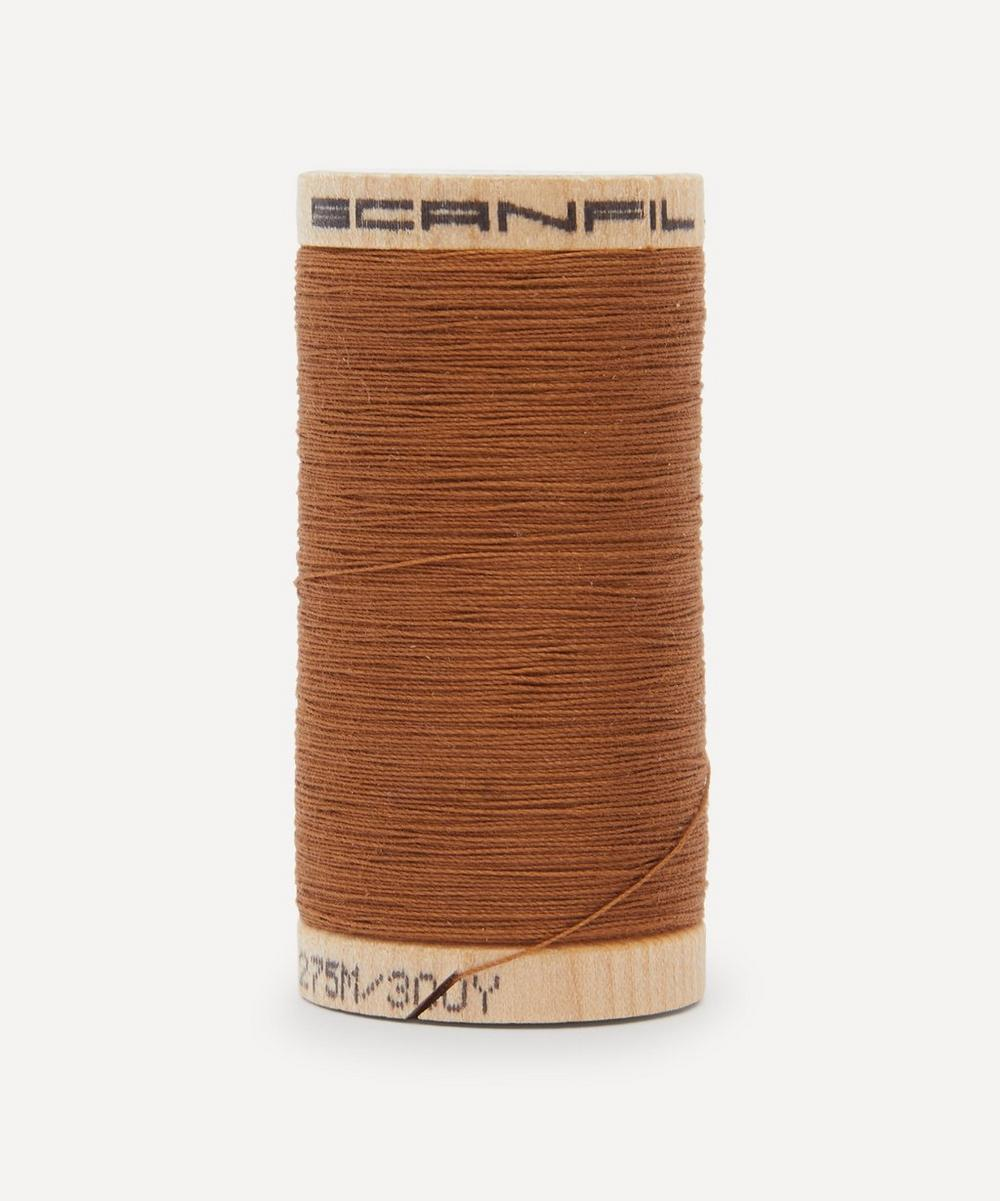 Scanfil - Brown Organic Cotton Thread