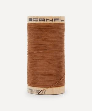 Brown Organic Cotton Thread