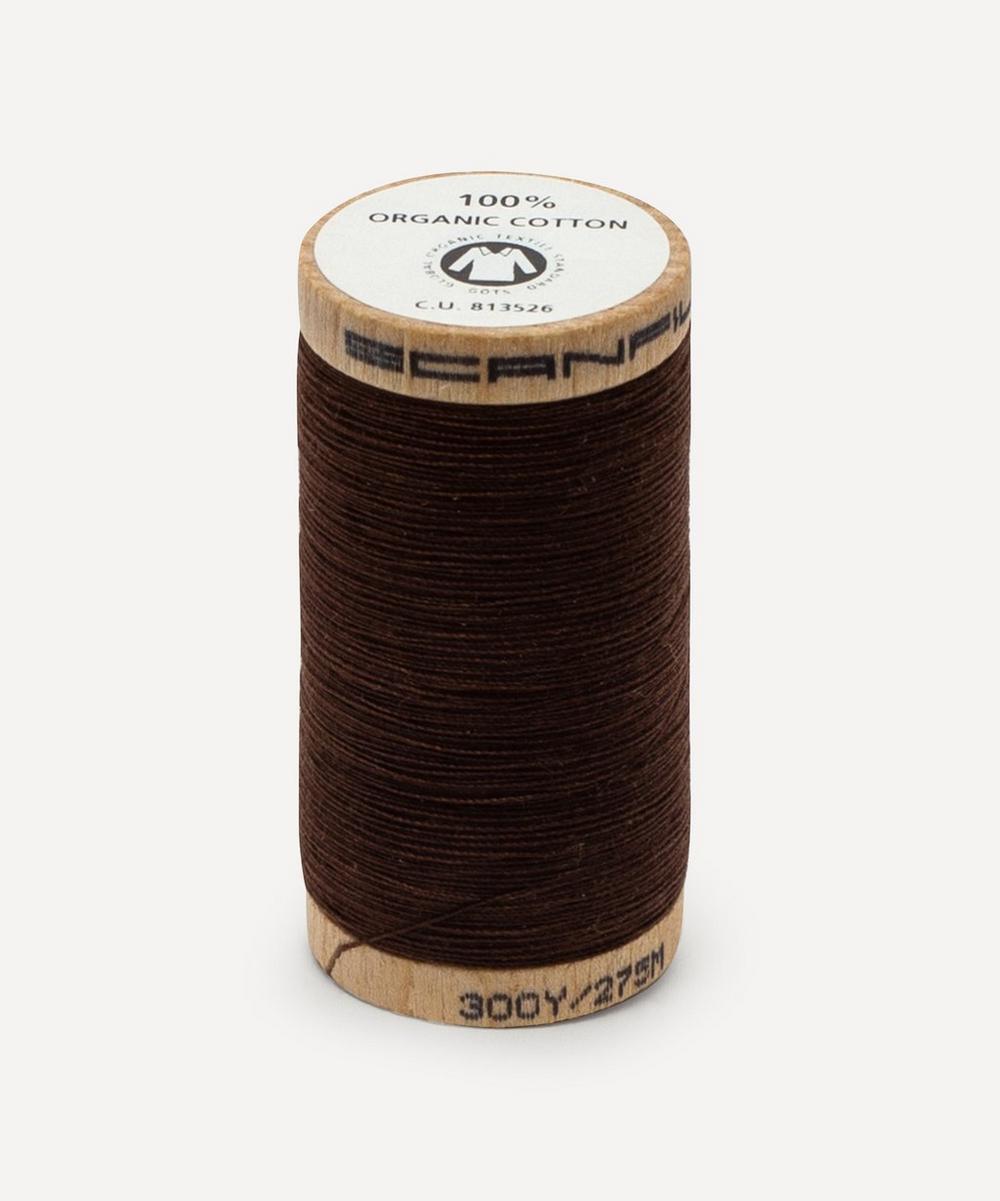 Scanfil - Dark Brown Organic Cotton Thread