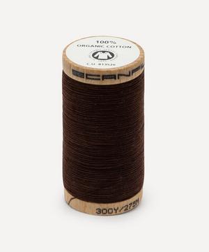Dark Brown Organic Cotton Thread
