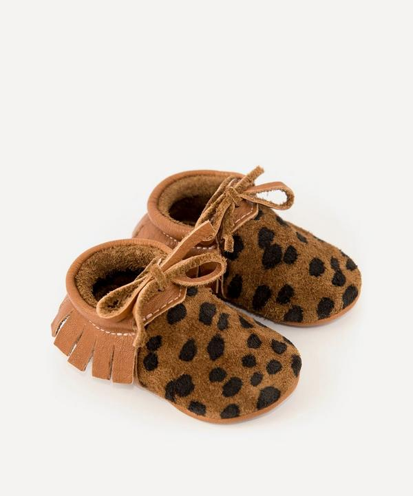 Amy & Ivor - Cheetah Moccasins 0-24 Months